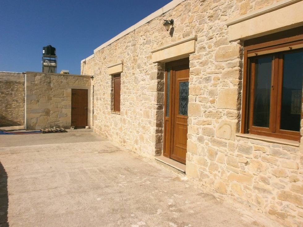 Beautiful stone house in Crete